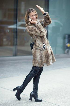 Flavia Lucini attends the 2016 Victoria's Secret Fashion Show call backs