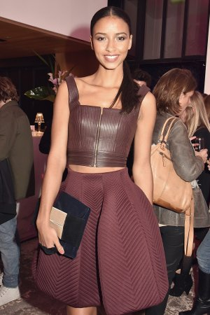 Flora Coquerel attends the Elle Girl TV Launch Party