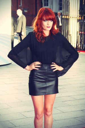 Florence Welch at Mercury Music Prize
