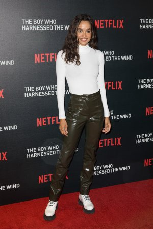 Frances Aaternir attends The Boy Who Harnessed The Wind' film screening