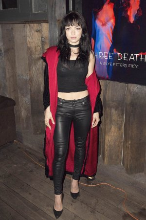 Francesca Eastwood attends the Premiere Of Stonefox Pictures Three Deaths