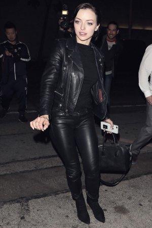 Francesca Eastwood is spotted leaving Craig's restaurant