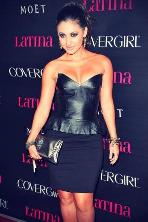 Francia Raisa at Latina Magazine's Latinos