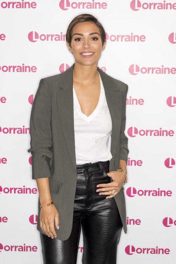 Frankie Bridge at Lorraine TV Show in London 5th March 2020