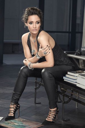 Frankie Bridge photoshoot for Thomas Sabo Jewellery