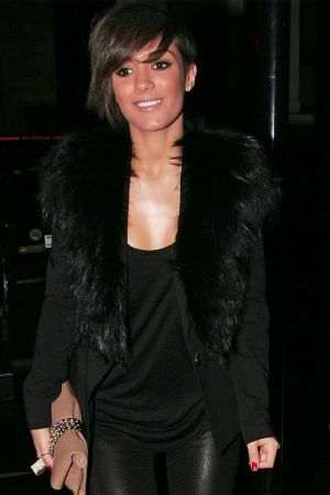 Frankie Sandford leaves The Ivy