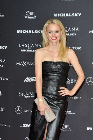 Franziska Knuppe at Mercedes-Benz Fashion Week Berlin Spring/Summer 2012
