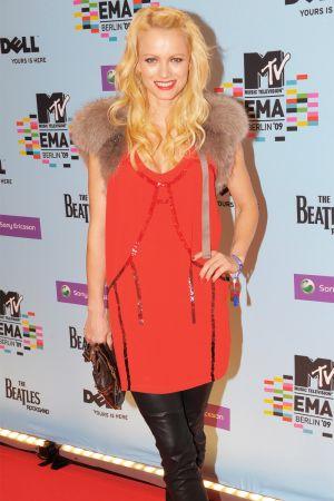 Franziska Knuppe at MTV Europe Music Awards