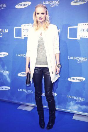 Franziska Knuppe attends Samsung Smartfilm Award Berlinale