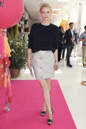 Franziska Knuppe attends the Gala Fashion Brunch