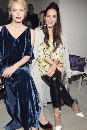 Franziska Knuppe & Johanna Klum attend Laurel Show