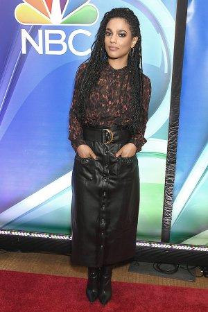 Freema Agyeman attends 2019 NBCs mid-season Press Junket