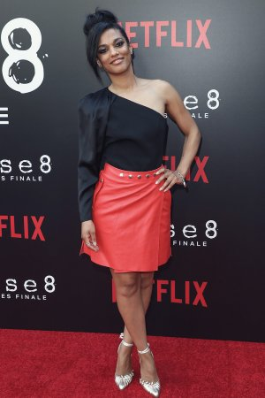 Freema Agyeman attends Screening of sense8 season 2 finale