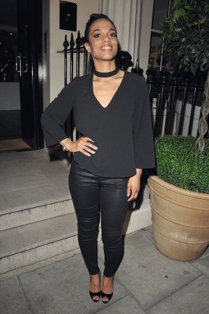 Freema Agyeman seen at the Apologia play after party
