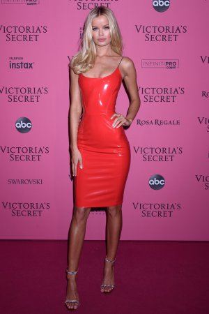 Frida Aasen attends Victoria's Secret Fashion Show