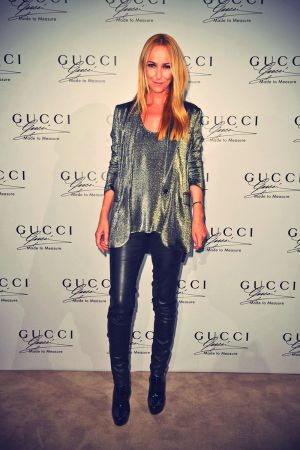 Frida Giannini attends the Guccie Made to Measure launch