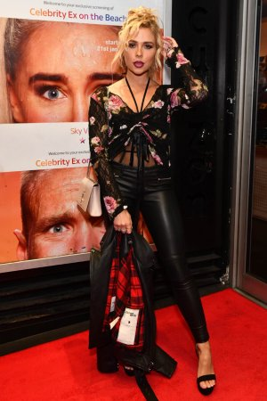 Gabby Allen at the Launch of Celebrity Ex on the Beach