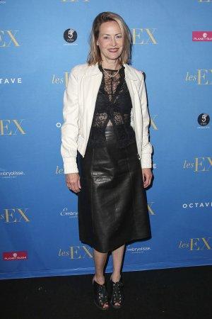 Gabrielle Lazure attends Les Ex film premiere