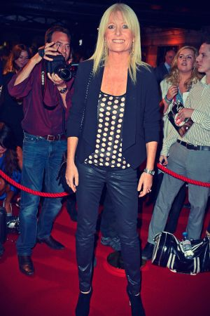 Gaby Roslin attends the press night for The Commitments