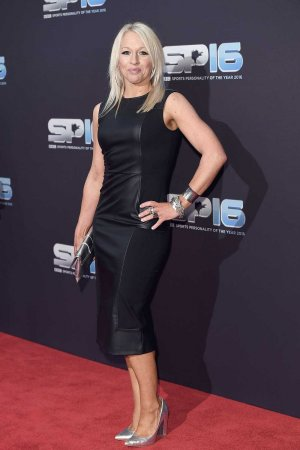 Gail Emms attends the BBC Sports Personality Of The Year