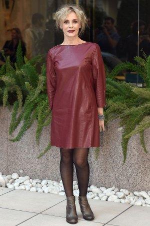 Galatea Ranzi at the photocall for 'La Ragazza Nella Nebbia'