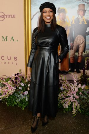 Garcelle Beauvais attends Focus Features EMMA premiere