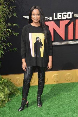 Garcelle Beauvais-Nilon attends The Lego Ninjago Movie premiere