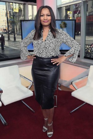 Garcelle Beauvais poses at Hollywood Today Live