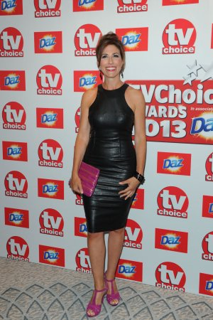 Gaynor Faye attends TV Choice Awards 2013