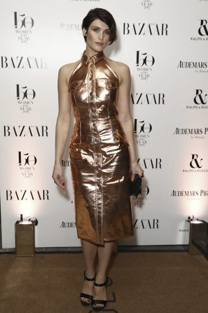 Gemma Arterton attends Harper's Bazaar Woman of the Year Awards