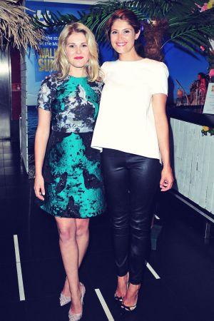 Gemma Arterton attends Walking on Sunshine premiere