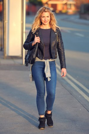 Gemma Atkinson out and about in Manchester