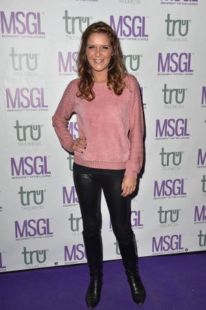 Gemma Oaten at The MediaSkin Gifting Lounge