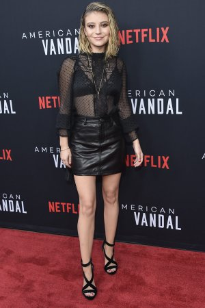 Genevieve Hannelius attends Netflix's 'American Vandal' TV show special screening