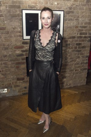 Genevieve O'Reilly attends The Ferryman play