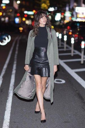 Georgia Fowler attends the 2016 Victoria's Secret Fashion Show
