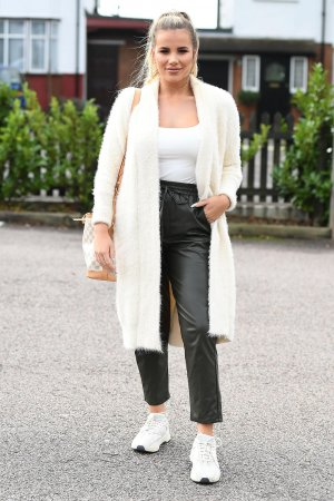 Georgia Kousoulou at The Only Way Is Essex TV Show Filming