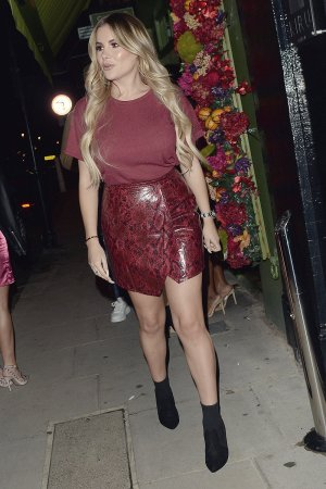 Georgia Kousoulou attends Chloe Sims' birthday party