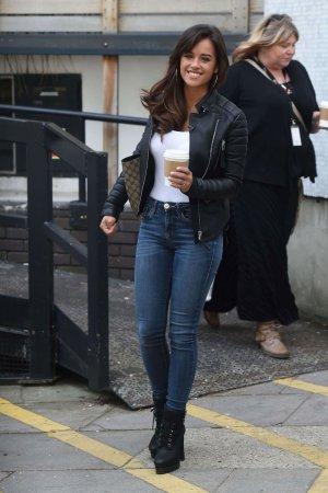 Georgia May Foote outside ITV Studios