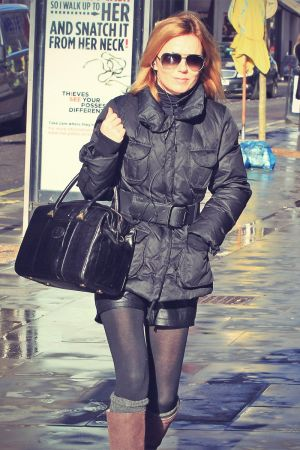 Geri Halliwell shopping in London