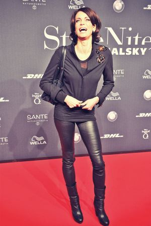 Gerit Kling attends Mercedes-Benz Fashion Week