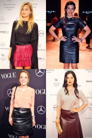 German celebs attend Mercedes-Benz Fashion Week Berlin