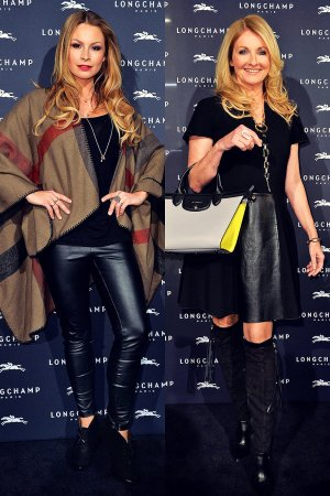 German celebs attend the Longchamp store opening