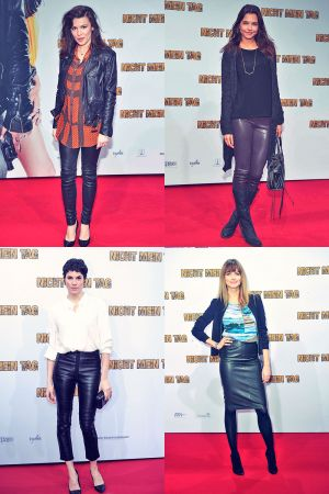 German celebs attend the premiere of the film Nicht mein Tag