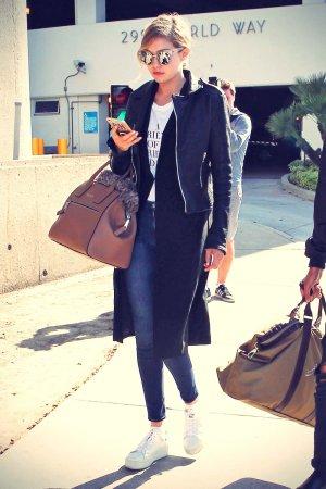 Gigi Hadid at LAX