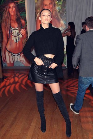 Gigi Hadid attends Sports Illustrated Party
