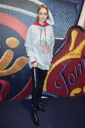 Gigi Hadid attends the Capsule Collection Tommy X Gigi Spring 2017