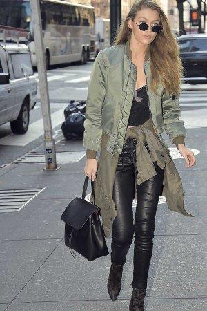 Gigi Hadid is seen in New York City