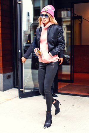 Gigi Hadid is spotted out and about in New York City