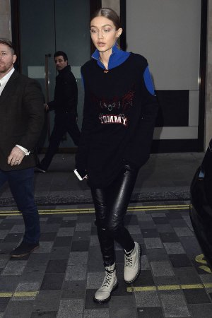 Gigi Hadid out and about in London